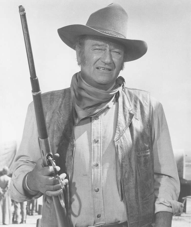 John Wayne on the set of 'The Undefeated' in 1969 in Durango, Mexico. (suggestion via email) Photo: Michael Ochs Archives / Moviepix