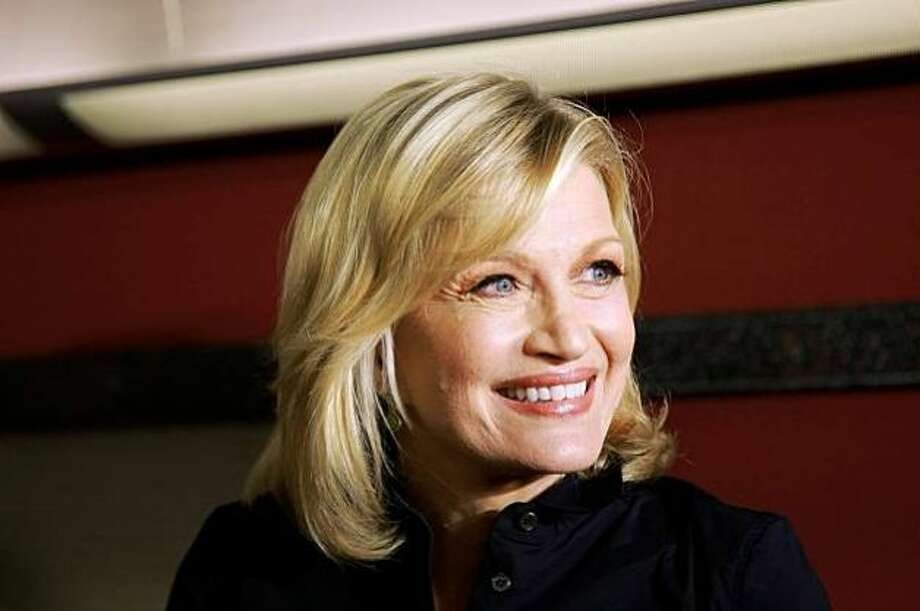 Diane Sawyer, aging gracefully.