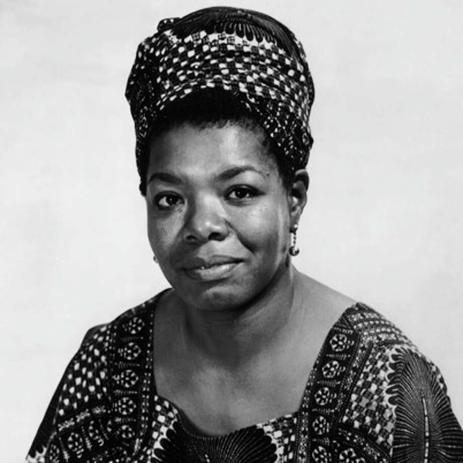 "Poet Maya Angelou is one of the women Westport acrtress Kimberly Wilson will  be portrayng in ""The Journey,"" her one woman show to be presented at the Westpot Historical Society March 20. Other figures she will be portraying include Harriet Tubman and Rosa Parks. Photo: Contributed Photo / Westport News"