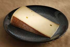 Hubaner, an aged cowÕs milk cheese from Austria as seen in San Francisco, California on Wednesday February 26, 2014.