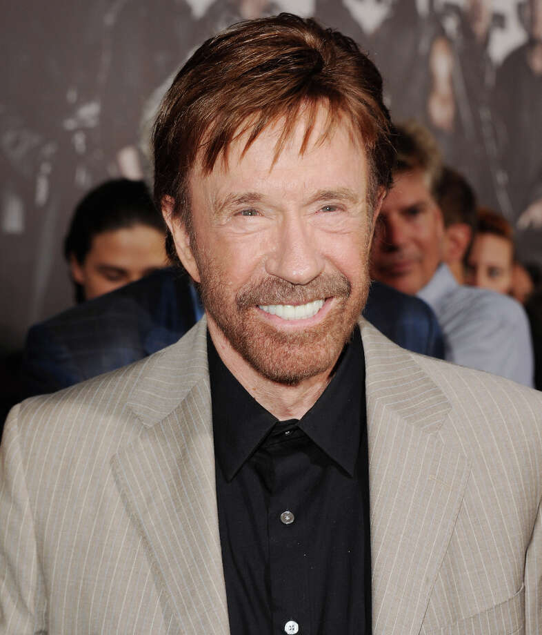 "Actor Chuck Norris arrives at the Los Angeles Premiere ""The Expendables 2"" at Grauman's Chinese Theatre on August 15, 2012 in Hollywood, California. (suggested by drimblewedge) Photo: Jon Kopaloff, FilmMagic / 2012 Jon Kopaloff"