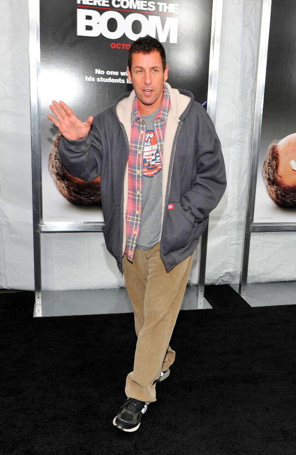 "Adam Sandler attends the ""Here Comes The Boom"" premiere at AMC Loews Lincoln Square on October 9, 2012 in New York City. (suggested by lbrmouse) Photo: Michael N. Todaro, FilmMagic / 2012 Michael N. Todaro"