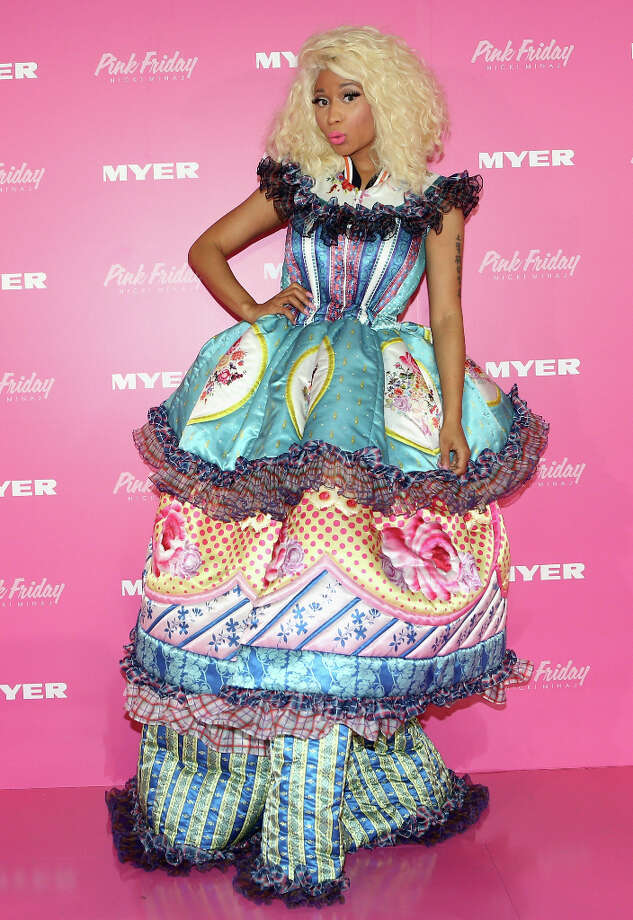 Nicki Minaj poses during an event to celebrate the launch of her new perfume at Myer Sydney City on November 29, 2012 in Sydney, Australia. (reader suggestion) Photo: Lucas Dawson, Getty Images / 2012 Lucas Dawson