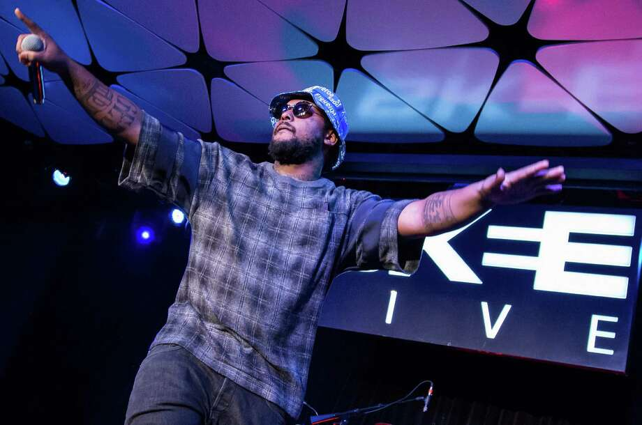 """Rapper ScHoolboy Q is ambitious on """"Oxymoron"""" — and just as grim. Photo: WireImage / 2014 Vincent Sandoval"""
