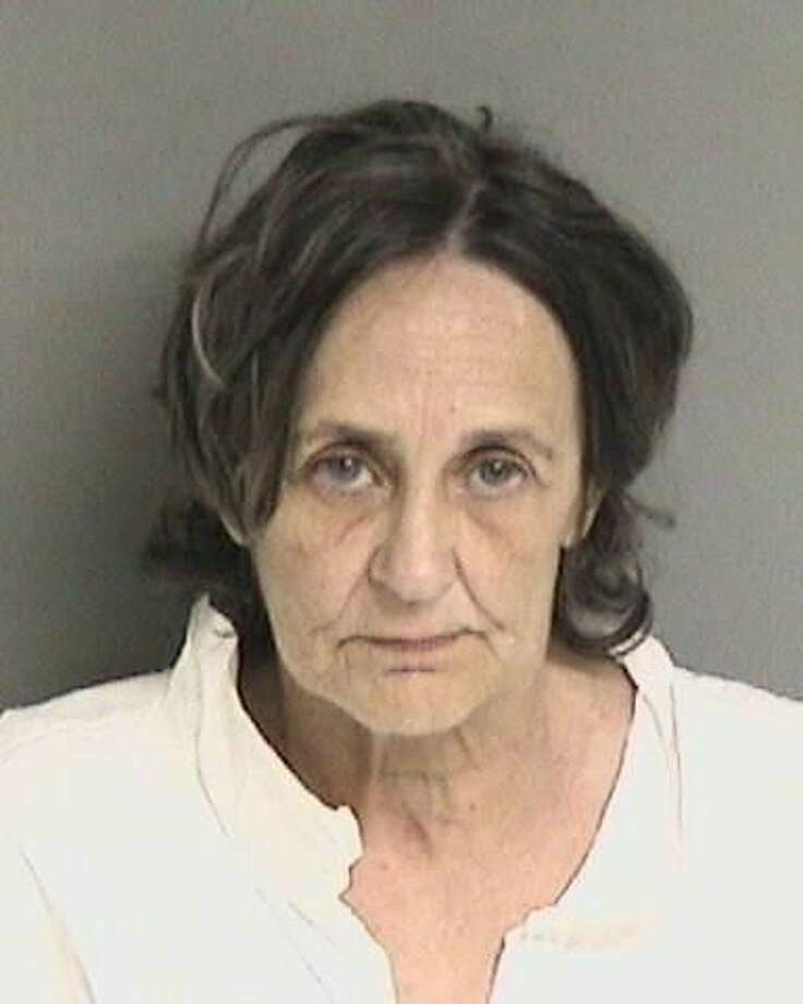 Cindy Burleigh, 57, was charged with special-circumstances murder for allegedly beating her mother to death in Newark with a hammer a day after the victim had complained about her daughter using marijuana, police said. Photo: Newark Police Department, Courtesy