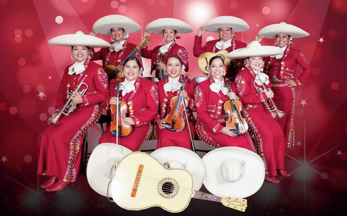 The all-female Mariachi Las Altenas, a rarity in the genre, performs March 14.