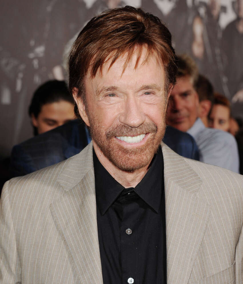 GOP gubernatorial candidate Greg Abbott will be joined by actor Chuck Norris at Casa Rio Restaurant today at 11:45 a.m.