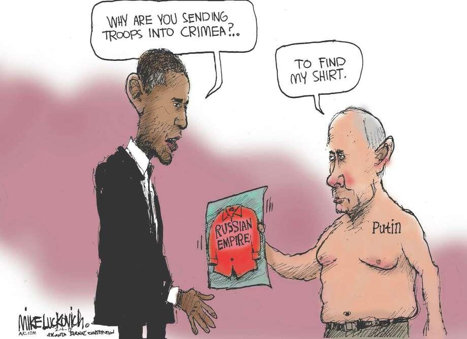 Putin lookin'