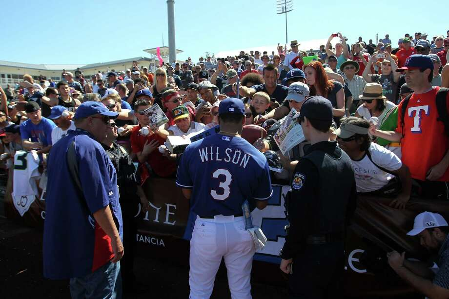 The top two-sport pro athletes though timeSeattle Seahawks quarterback Russell Wilson suited up for the Texas Rangers on Monday, joining the MLB team for spring training workouts but never stepping into the batter's box (no one wanted to risk injury). The Rangers invited him mainly to speak to their young players and give them inspirational advice, but Wilson did leave the door open for a possible two-sport career in his future.Naturally, that got us thinking about others who have played multiple sports professionally. Here's a look back at some of the top two-sport athletes through time. Photo: Mike McGinnis, Getty Images / 2014 Getty Images