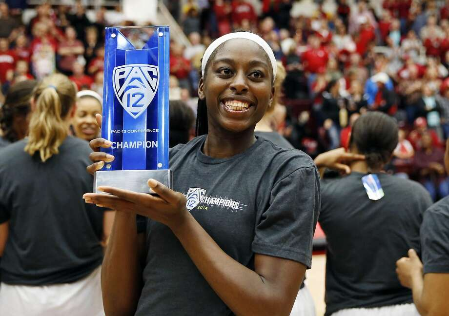 Chiney Ogwumike is Player of the Year again. Photo: Robert Stanton, Reuters