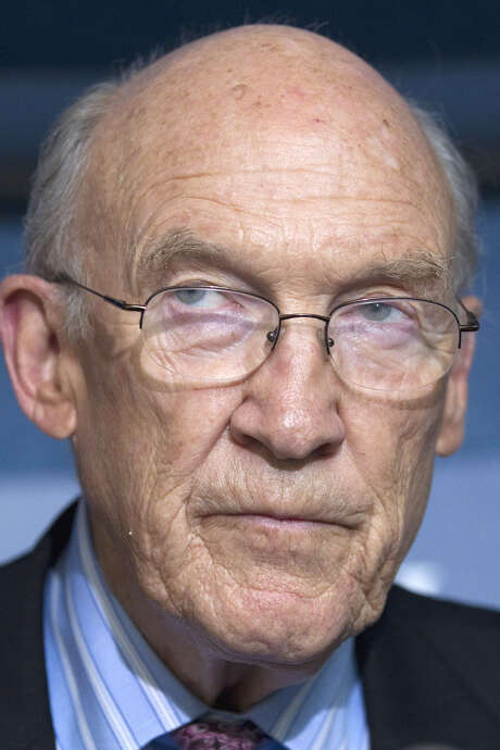 Former Sen. Alan Simpson favors allowing same-sex marriage. / AP