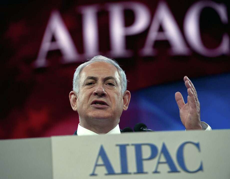 Speaking to the Israel Public Affairs Committee, Prime Minister Benjamin Netanyahu says Israel needs to make tough decisions if Palestinian peace talks are to have a future. Photo: Nicholas Kamm / Getty Images / Nicholas Kamm/AFP