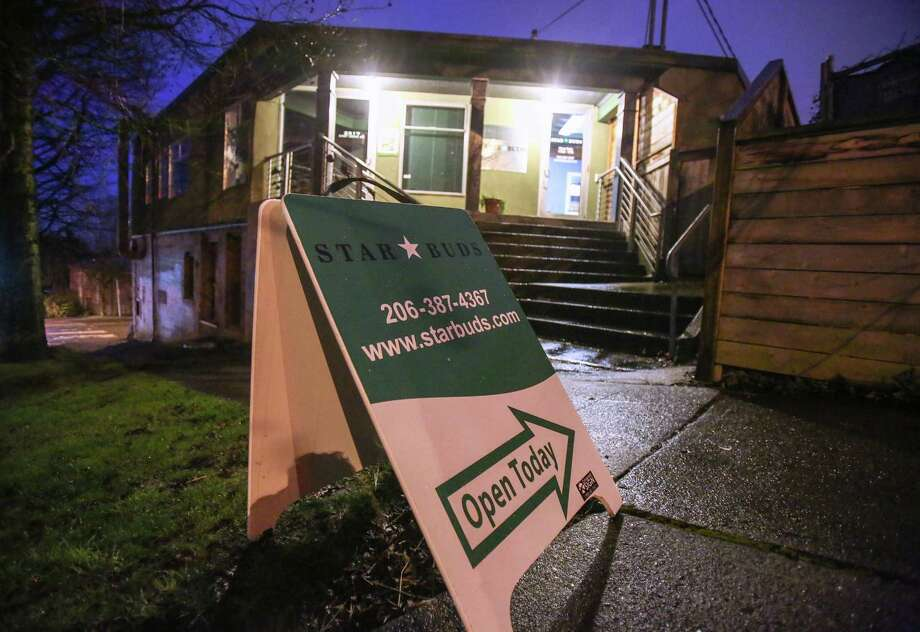 The Capitol Hill site formerly home to the Seattle Cross marijuana dispensary is now Star Buds. Two former owners in the Cross dispensary chain are now under federal indictment in a move their attorneys say runs counter to Justice Department marijuana guidelines. Star Buds is pictured Tuesday, March 4, 2014.  Photo: JOSHUA TRUJILLO, SEATTLEPI.COM / SEATTLEPI.COM
