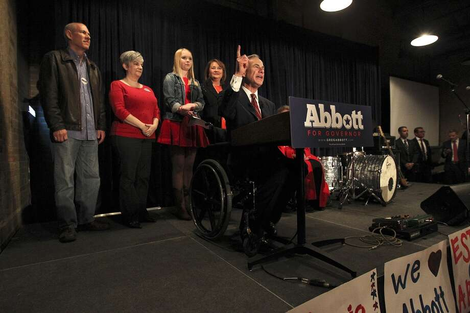 Attorney General Greg Abbott pulled in more primary votes, 1.2 million, than any other Republican in the state's history. State Sen. Wendy Davis garnered about a third of that, 430,000, or 78% of the Democratic vote. Photo: Jerry Lara, San Antonio Express-News