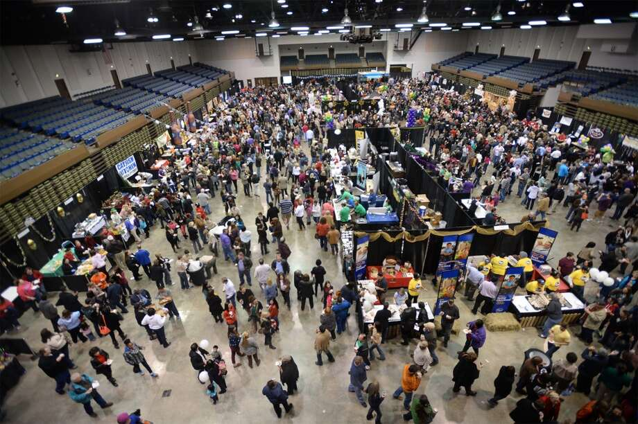 Beaumont's Civic Center was packed Tuesday night with food, music and fun as hundreds of patrons perused through dozens of vendors at the Taste of the Triangle. Photo taken Tuesday, March 04, 2014 Guiseppe Barranco/@spotnewsshooter