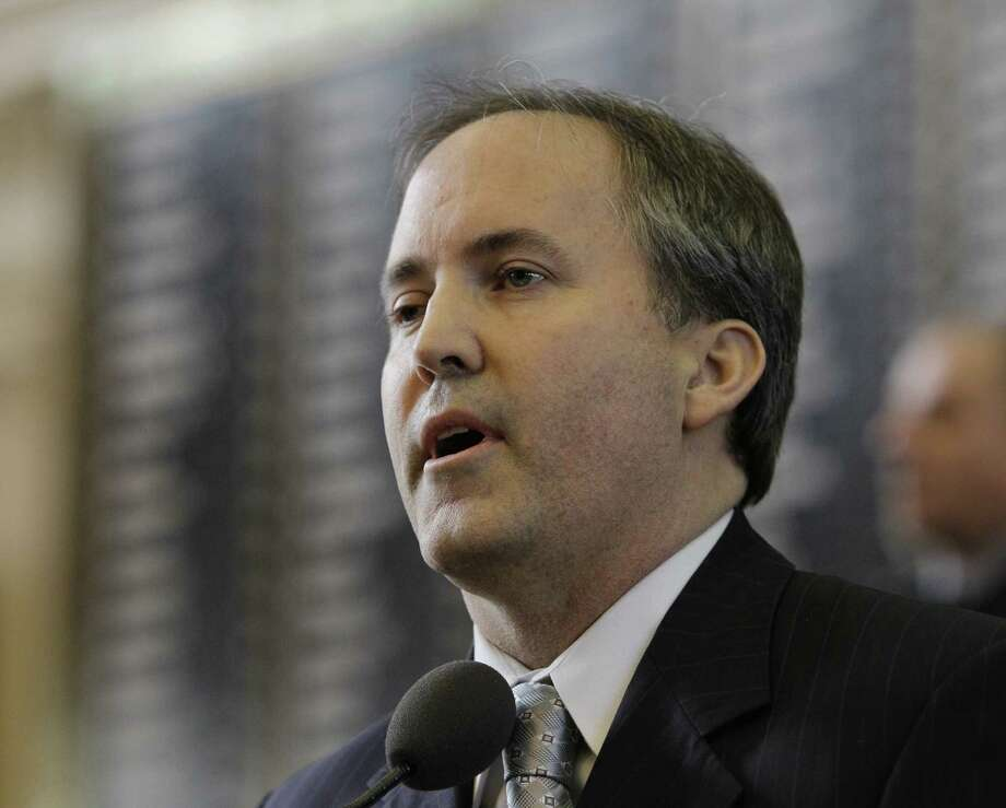 State Sen. Ken Paxton of McKinney took the top spot in the GOP primary for attorney general but must face Rep. Dan Branch of Dallas in a runoff. Photo: Associated Press File Photo / AP