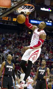 March 4: Rockets 106, Heat 103  Houston limits LeBron James to 22 points en route to earning one of the most crucial wins of the season.  Record: 41-19 Photo: Brett Coomer, Houston Chronicle