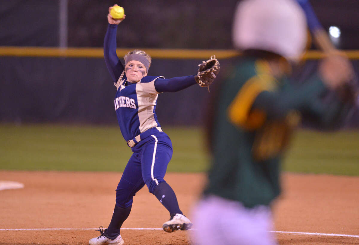 O'Connor pitcher Kelsie Stone overcame a wild first inning with two consecutive strikeouts en route to the Panthers beating Holmes 7-6 in a District 27-5A matchup Tuesday.