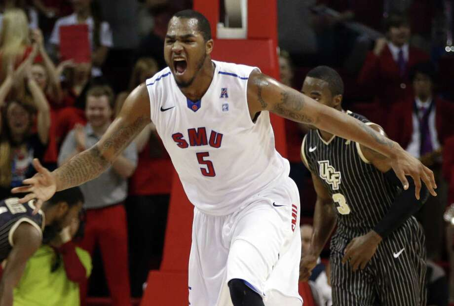 Forward Markus Kennedy is just one of the reasons SMU is a near-lock for its first NCAA tournament berth in 21 years. Photo: John F. Rhodes / Associated Press / FR170608 AP