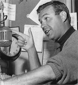 TV host and radio DJ Jim Lange during his heyday at KSFO. Lange died Feb. 25, 2014.
