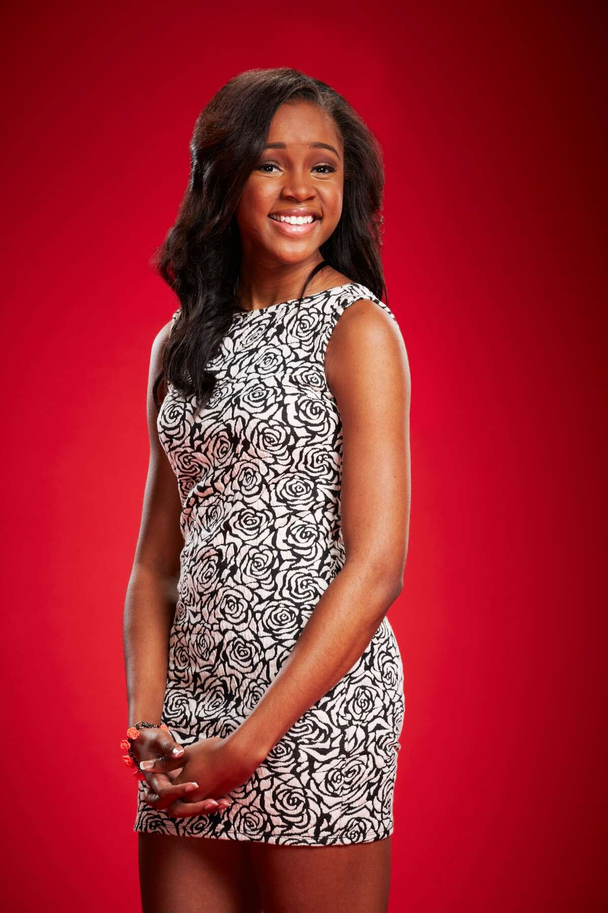 Deja Hall, a junior at Taft High, is being mentored on 'The Voice' by Shakira. Photo: NBC