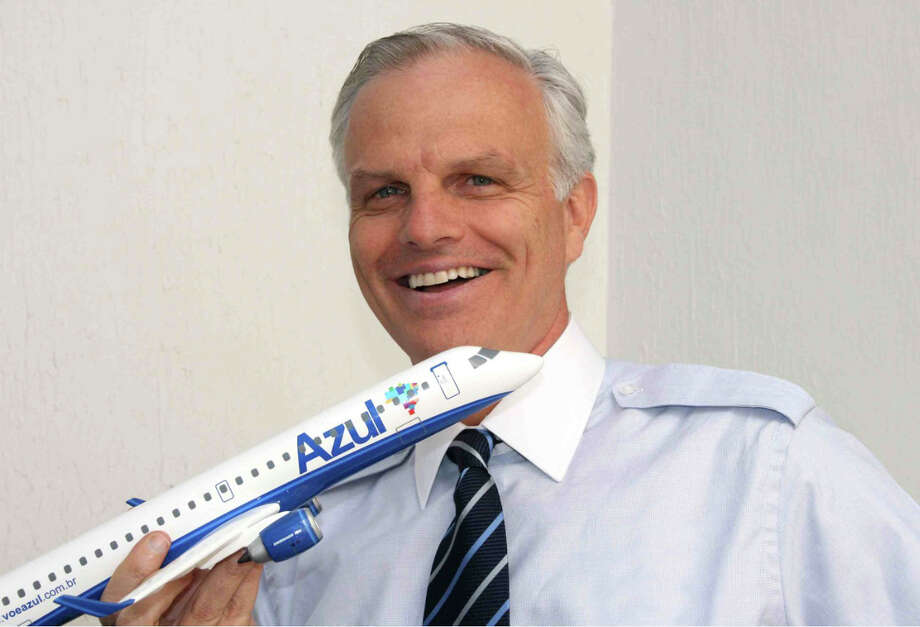 "Darien businessman and JetBlue founder David Neeleman will give a presentation titled ""What Makes a Start Up Soar?"" Wednesday, March 19, at the Darien Library. Photo: Contributed Photo, Contributed / Darien News"