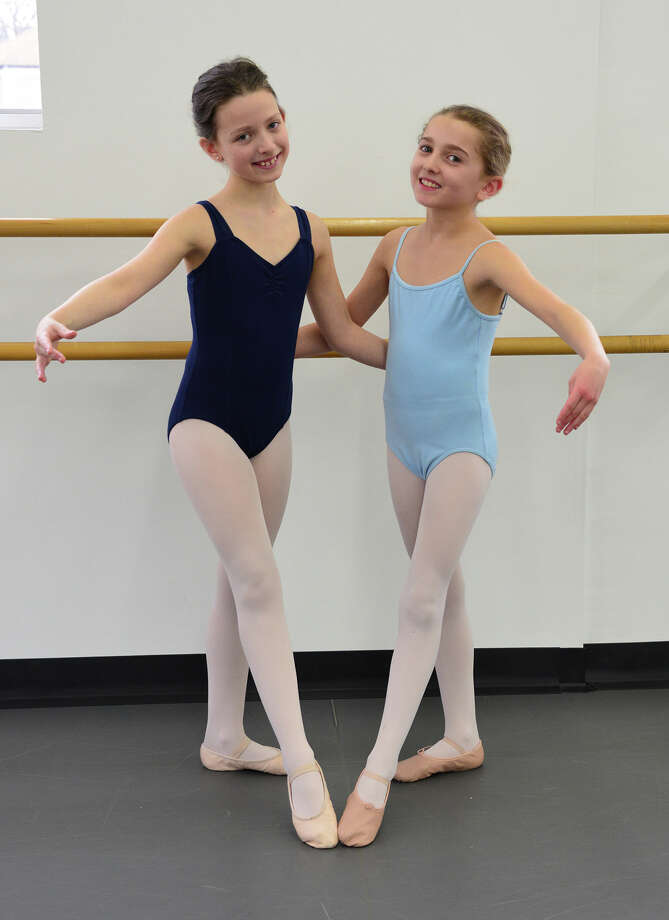 Olivia Pistone and Sadie Mossa, both of Darien, will perform in the Ballet Etudes' 25th anniversary gala Saturday, March 15, at the Westport Country Playhouse. Photo: Contributed Photo, Contributed / Darien News