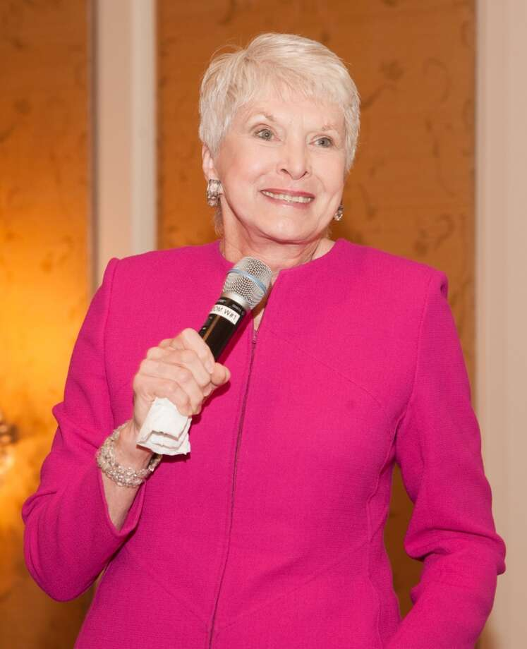 Guest speaker, Jeanne Robertson at the Family Services of Greater Houston 110th Anniversary, Feb. 26, 2014 Photo: Alexander Rogers