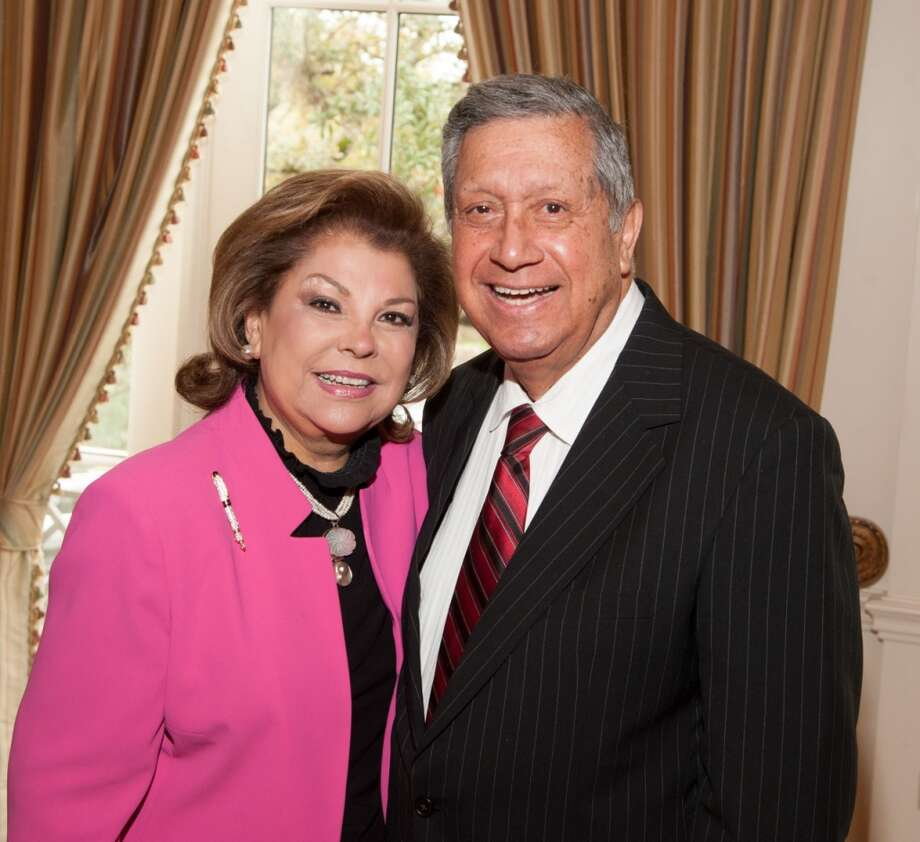 Irene & Lupe Fraga at the Family Services of Greater Houston 110th Anniversary, Feb. 26, 2014 Photo: Alexander Rogers