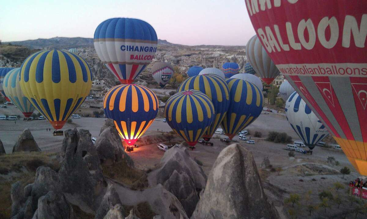 Reader submitted photo of Cappadocia, Turkey for the Postcard column in Escapes.