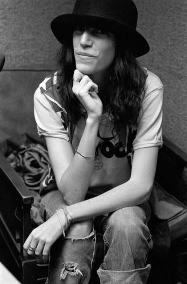 Punk rock icon Patti Smith