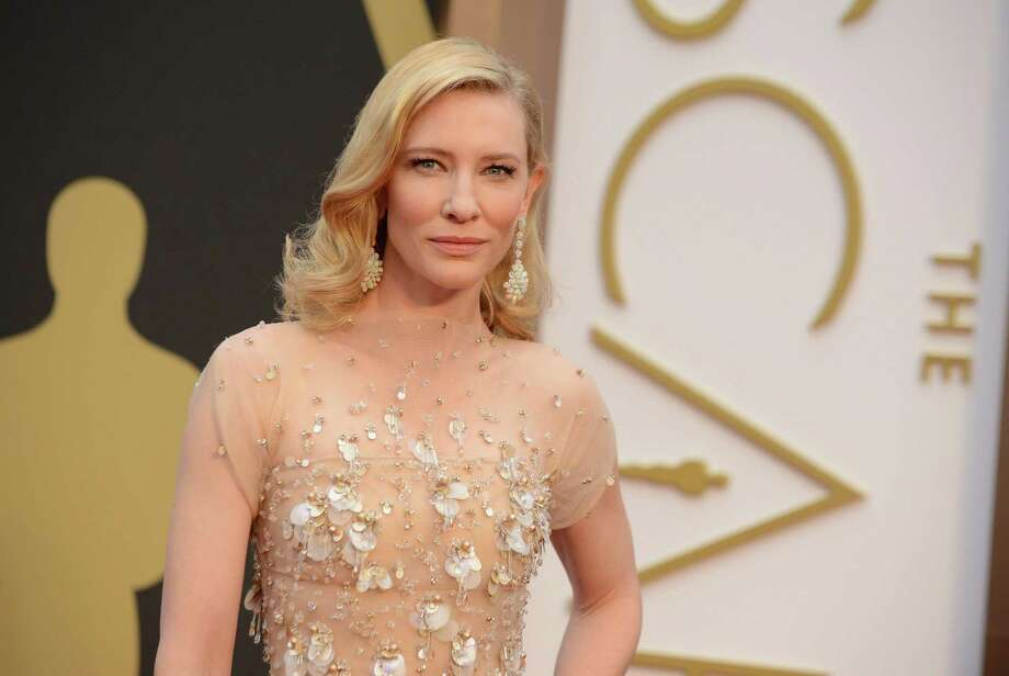 Cate Blanchett arrives at the Oscars on Sunday, March 2, 2014, at the Dolby Theatre in Los Angeles.  (Photo by Jordan Strauss/Invision/AP) ORG XMIT: CACJ187 Photo: Jordan Strauss / Invision