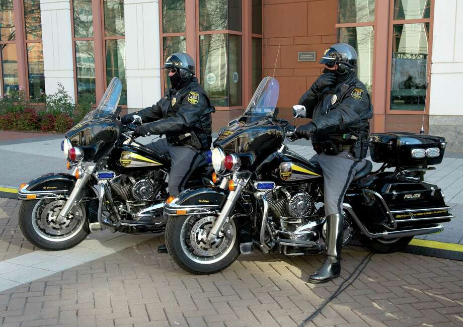 The Harley-Davidson Electra Glide is a perennial choice for American police departments. Photo: KAREN BLEIER, AFP/Getty Images / 2012 AFP