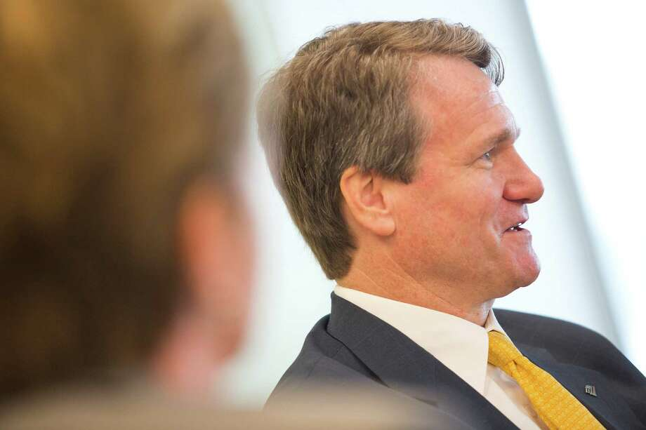 While it's not entirely his fault, Brian Moynihan's four years leading Bank Of America have not been its smoothest. Most notably, the bank was fined $2.1 billion after being found liable in October 2013 for fraud over defective mortgages sold by its Countrywide unit. Bank of America is now weighing its options for an appeal. The bank also received a wave of criticism in 2011 after announcing a $5 per month fee for debit card customers. It dropped the fee and has watched its stock rise since that year. Moynihan received a 17% raise in 2013, bringing his salary to $14 million, according to The Wall Street Journal. Photo: Thomas B. Shea, Getty Images / © 2012 Thomas B. Shea