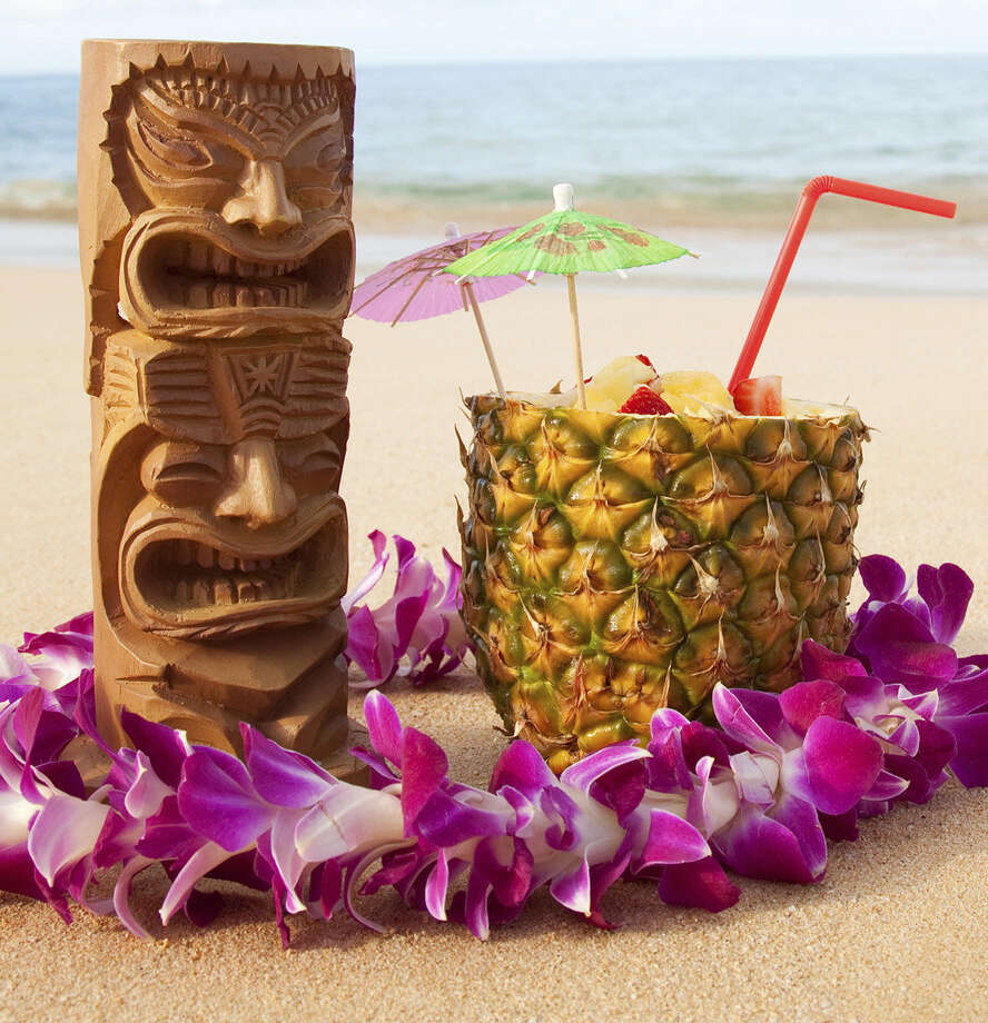 Although Texas Tiki Week kicked  off this past Sunday, and its events are primarily based in Austin,  there are still a number of ways to drink many, many tropical drinks  this week. Photo: Daniel Bendjy, Getty Images / (c) Daniel Bendjy