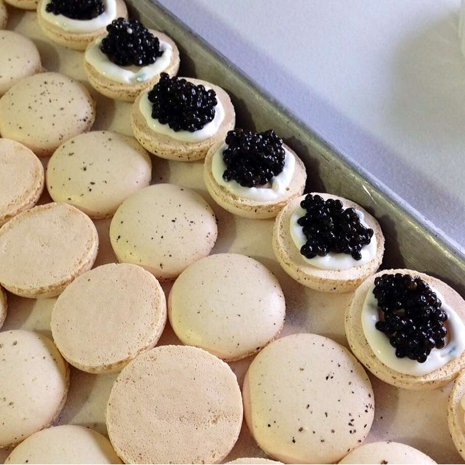 Caviar Macarons Photo: Kate Cunningham