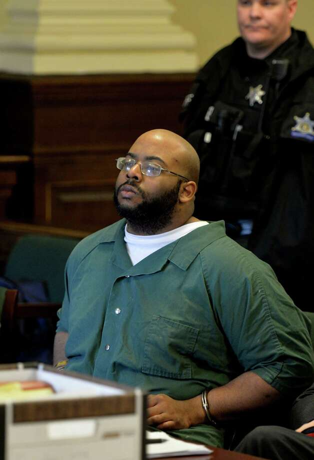 Adrian Thomas, the Troy father whose murder conviction was reversed by the New York State Court of Appeals, appears in Rensselear County Court Wednesday afternoon, March 5, 2014, in Troy, N.Y.    (Skip Dickstein / Times Union archive) Photo: SKIP DICKSTEIN / 00026018A