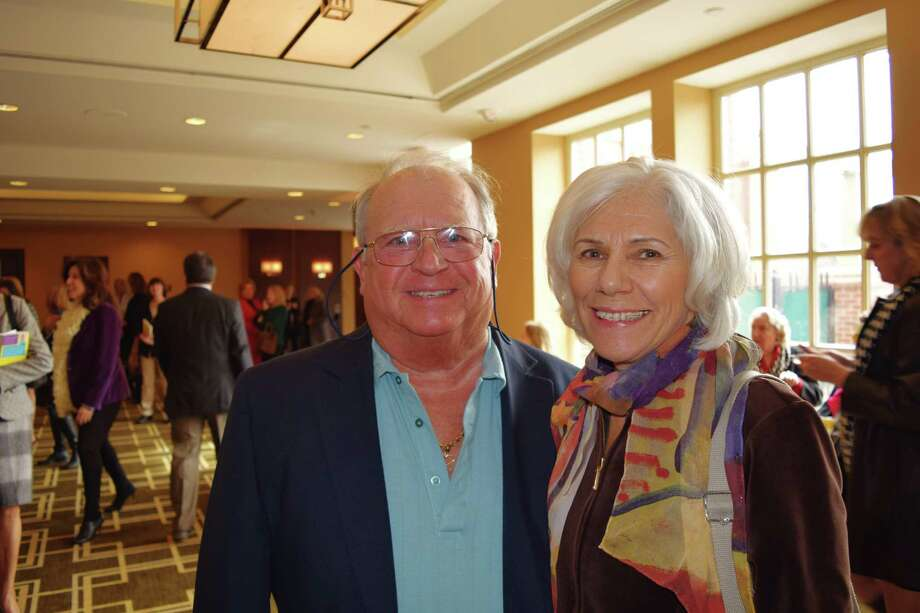 """Jane Fonda was in Greenwich March 5, 2014 as the special guest of Family  Centers of Fairfield County. Fonda's new book called """"Being A Teen"""" was  the focus of the luncheon held at the Hyatt Regency Ballroom. As the  speaker Fonda was animated as she explained the special concern for she  has for adolescent issues. Were you SEEN? Photo: Todd Tracy / Hearst Connecticut Media Group"""