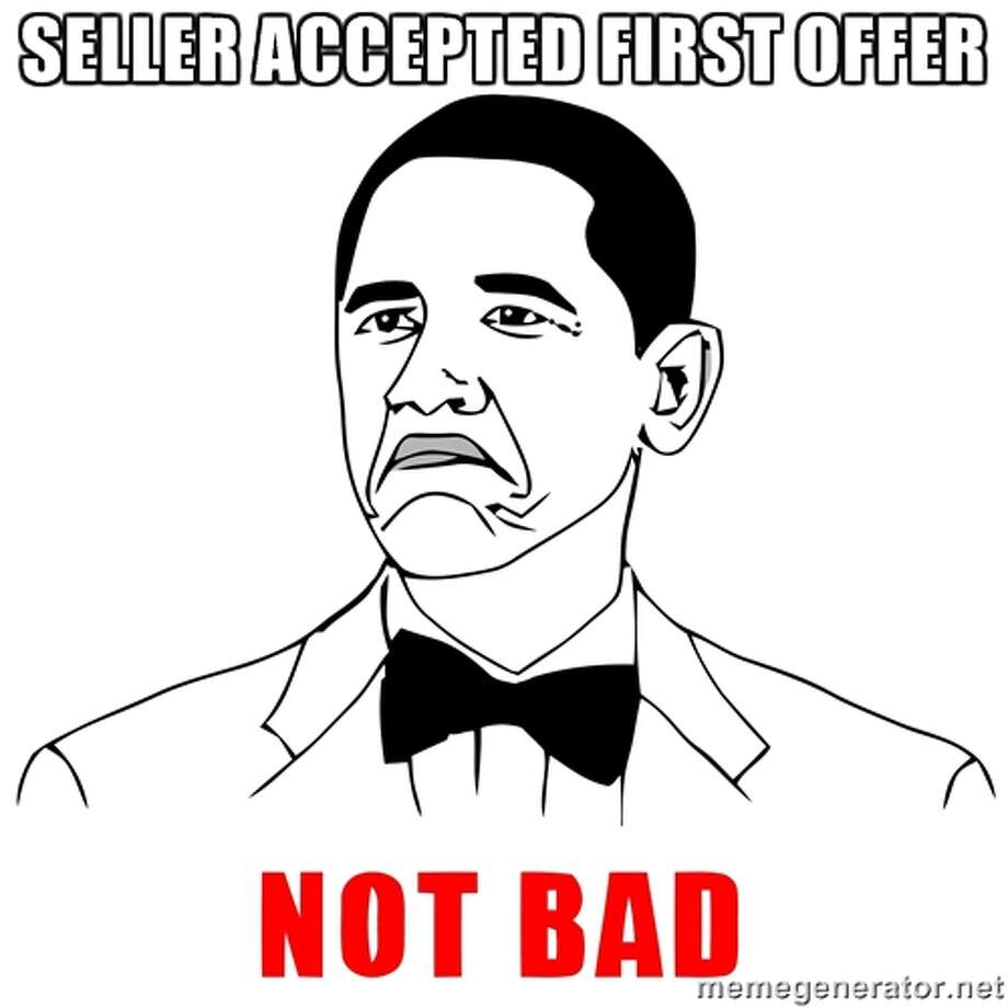 Step 12: The seller has accepted your offer!Source: Market Leader