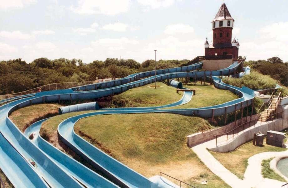 The New Braunfels park originally featured only four waterslides.