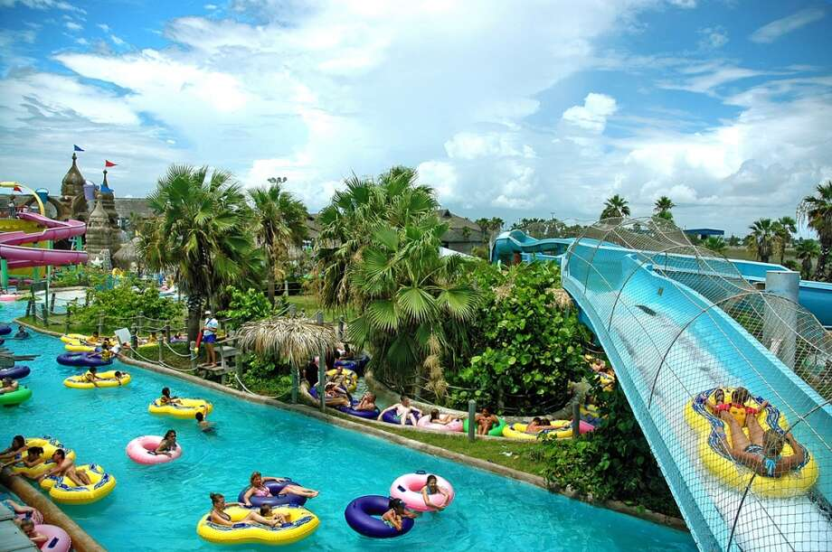 Schlitterbahn opened it's second park in 2001 on South Padre Island. he park featured the then-new Transportainment river system to help visitors relax as they moved around the park.