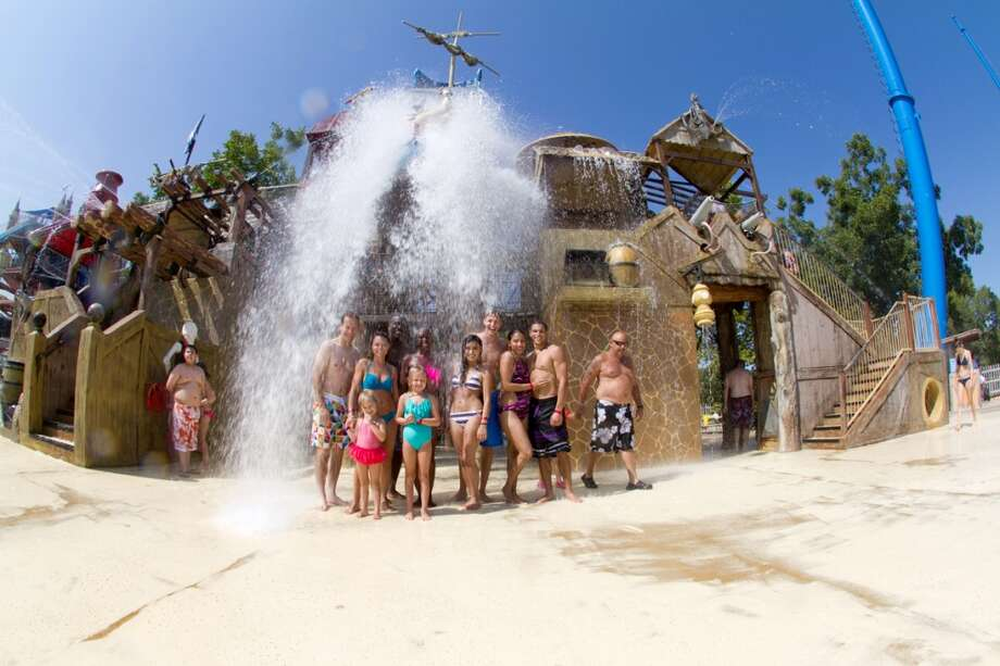 Schlitterbahn celebrated its 20th anniversary with the addition of Han's Hideout, a five-story water fun house, at Blastenhoff. Photo: Www.mikiefarias.com