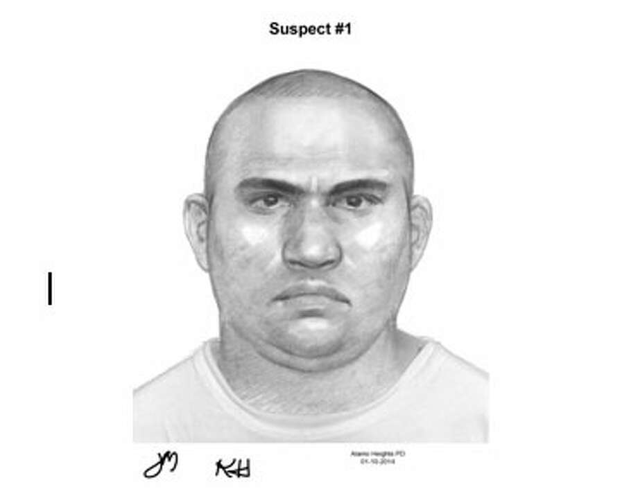 Crime Stoppers and the Alamo Heights Police Department are looking for two men who they said tried to kidnap a woman, 26, last month as she walked her dog. Photo: Courtesy
