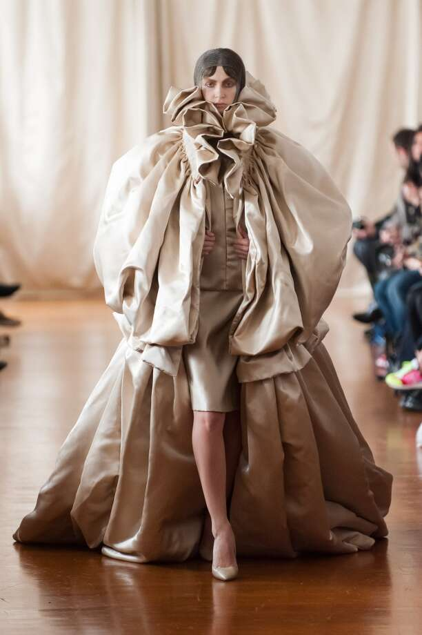 """As you put away your winter wardrobe this spring, start your shopping list for next fall with this handy list. The """"don't touch me"""" coat. Photo: Francois Durand, Getty Images"""