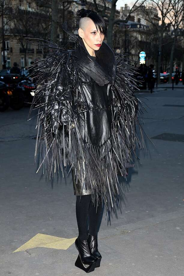 "The ""no really, don't touch me EVER"" coat. Photo: Pierre Suu, Getty Images"
