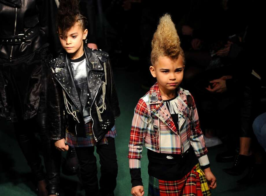 Itty-bitty punks. Photo: Francois Durand, Getty Images