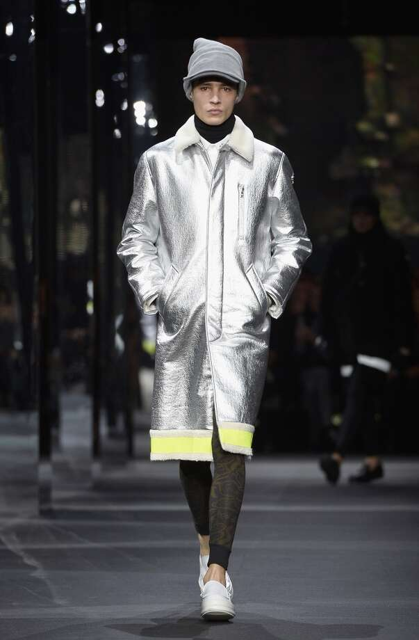 Couture for the school crossing guard. Photo: Pascal Le Segretain, Getty Images