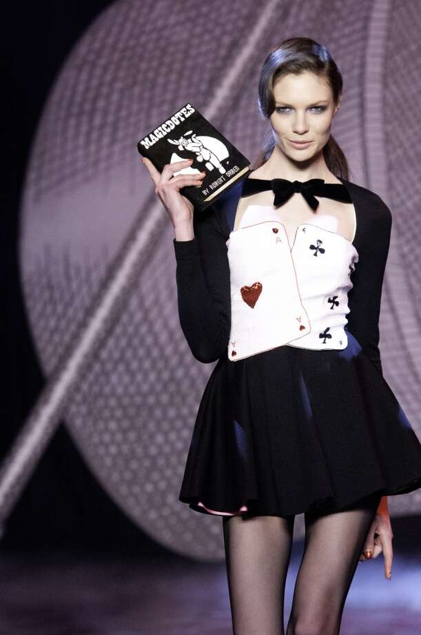 Sexy casino-inspired fashion. Photo: Kay-Paris Fernandes, Getty Images