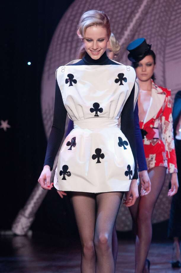 Weird casino-inspired fashion. Photo: Kay-Paris Fernandes, Getty Images