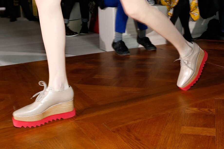 New ways to make feet look as clunky and unattractive as possible. Photo: Bertrand Rindoff Petroff, Getty Images